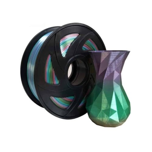 3DPO SILK RAINBOW PLA FILAMENT 1KG 1.75MM